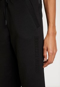 Armani Exchange - TROUSER - Træningsbukser - black - 5