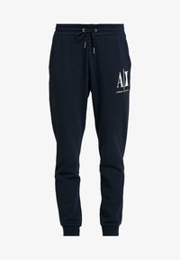 Armani Exchange - TROUSER - Tracksuit bottoms - navy - 3