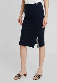 Armani Exchange - Pouzdrová sukně - blueberry jelly - 0