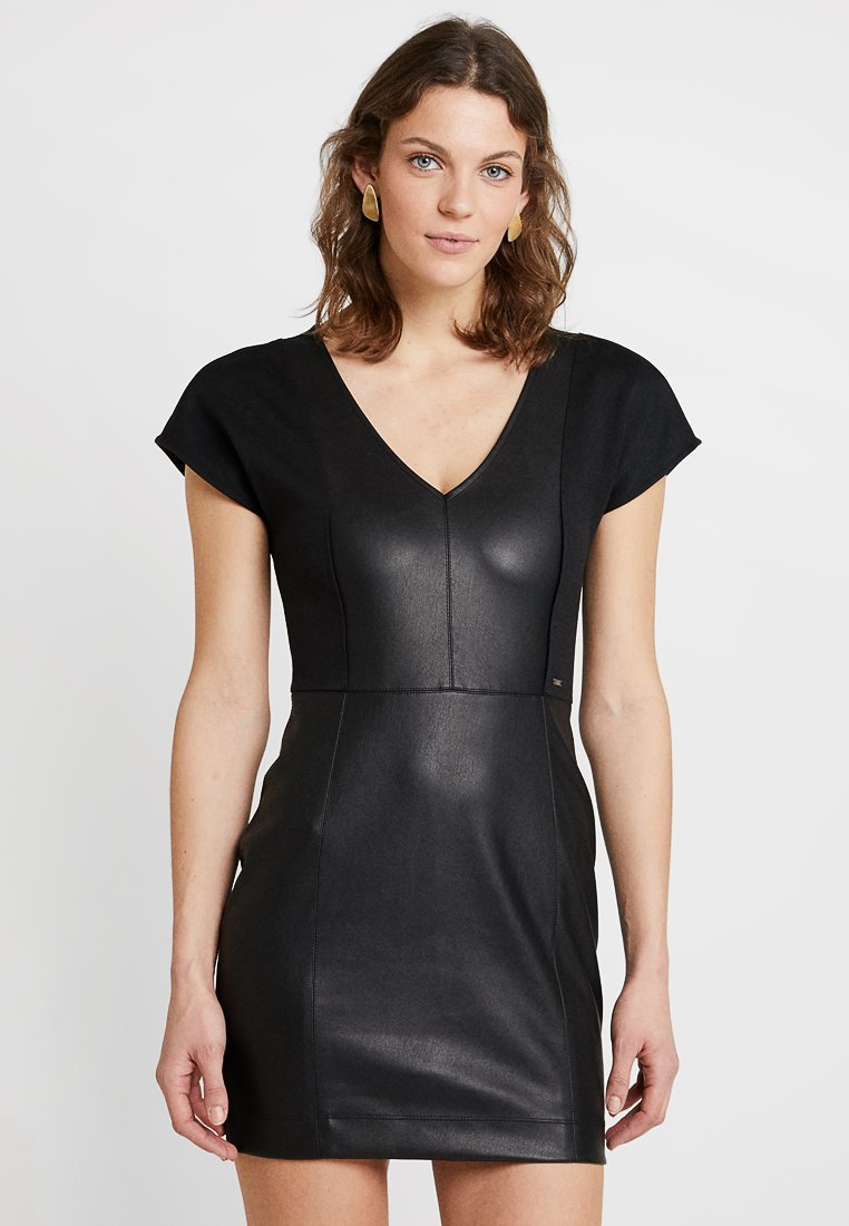 Armani Exchange - Shift dress - black