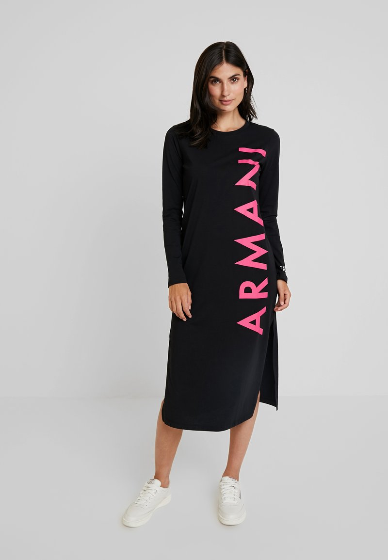 Armani Exchange - Jerseykleid - black