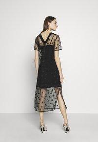 Armani Exchange - DRESS - Juhlamekko - black - 2