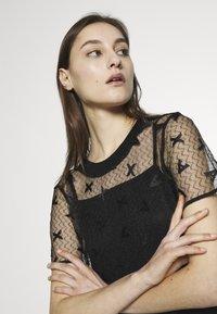 Armani Exchange - DRESS - Juhlamekko - black - 4