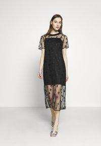 Armani Exchange - DRESS - Juhlamekko - black - 0