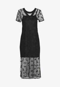 Armani Exchange - DRESS - Juhlamekko - black - 3
