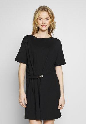 DRESS - Jersey dress - black