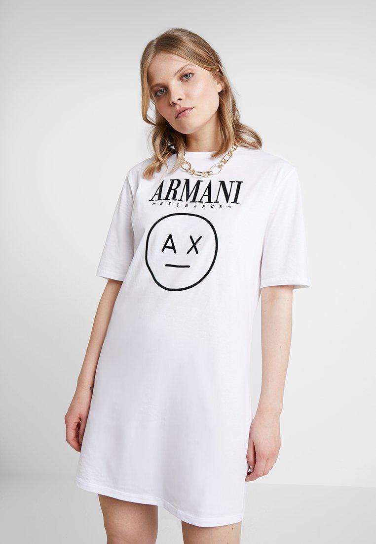 Armani Exchange - Jerseyjurk - optic white