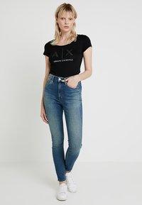 Armani Exchange - T-shirt print - black - 1