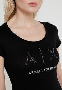 Armani Exchange - T-shirt print - black - 4