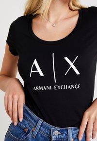 Armani Exchange - Print T-shirt - black - 5