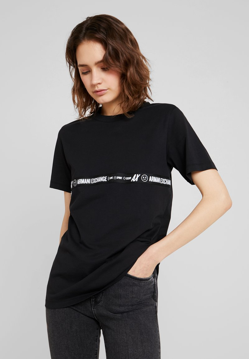 Armani Exchange - T-Shirt print - black