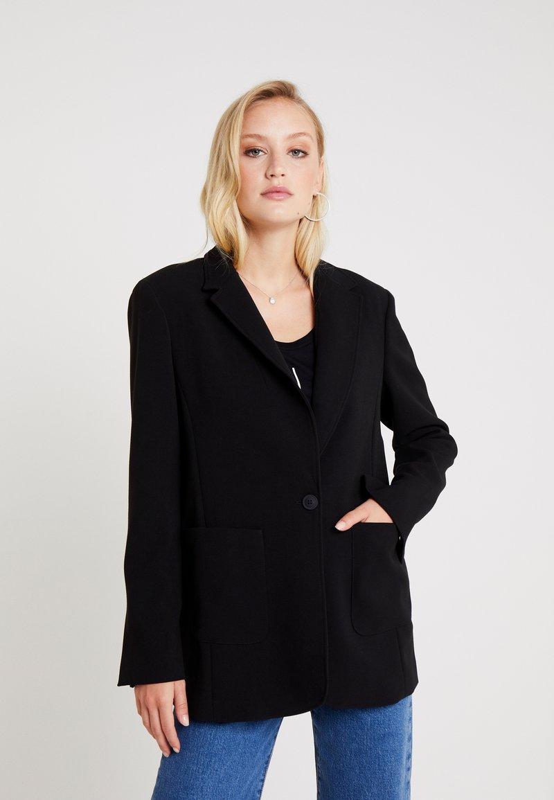 Armani Exchange - Halflange jas - black