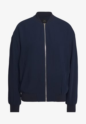 BLOUSON - Giubbotto Bomber - blueberry/off white