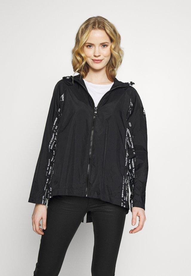 CABAN - Vodotěsná bunda - black