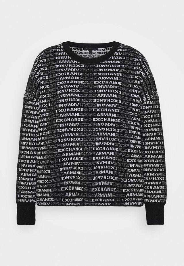 Jersey de punto - black/white