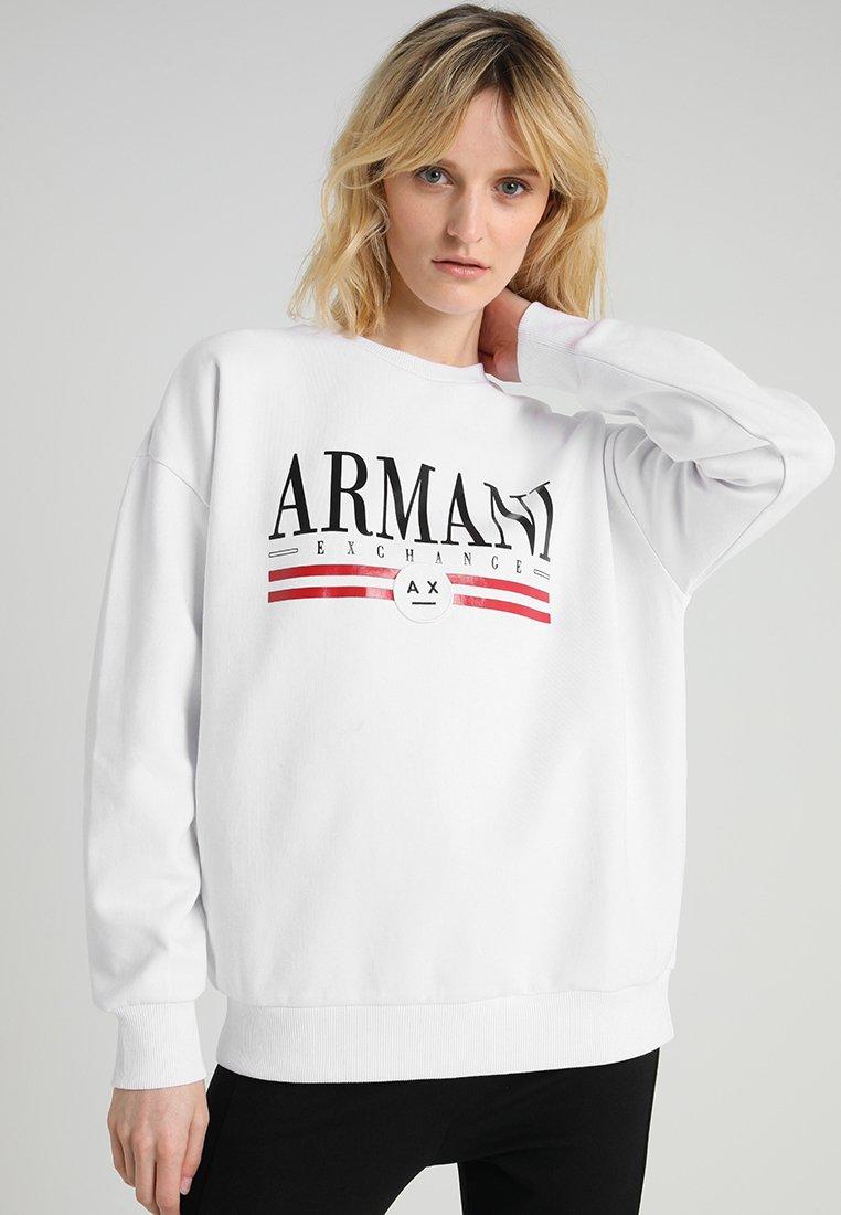 Armani Exchange - Longsleeve - optic white