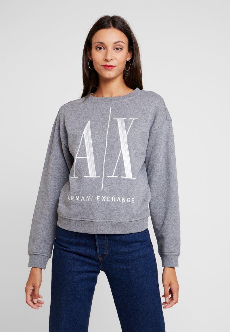 Armani Exchange - Sweatshirt - grey