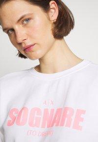 Armani Exchange - Sweater - white sognare - 4