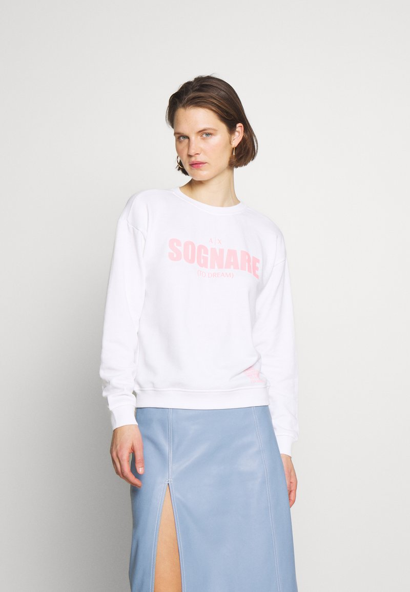 Armani Exchange - Sweater - white sognare