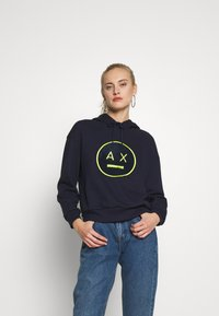 Armani Exchange - Hoodie - blueberry jelly - 0