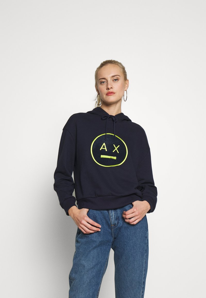 Armani Exchange - Hoodie - blueberry jelly