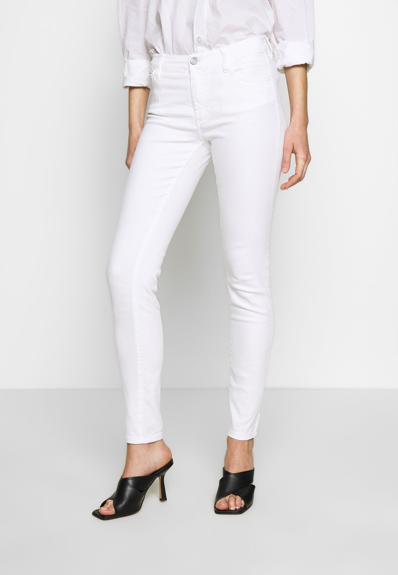 Armani Exchange - Džíny Slim Fit - white