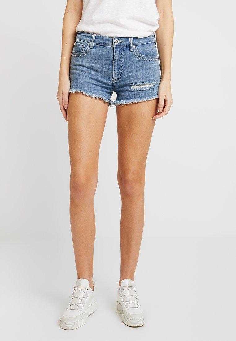 Armani Exchange - Denim shorts - indigo denim