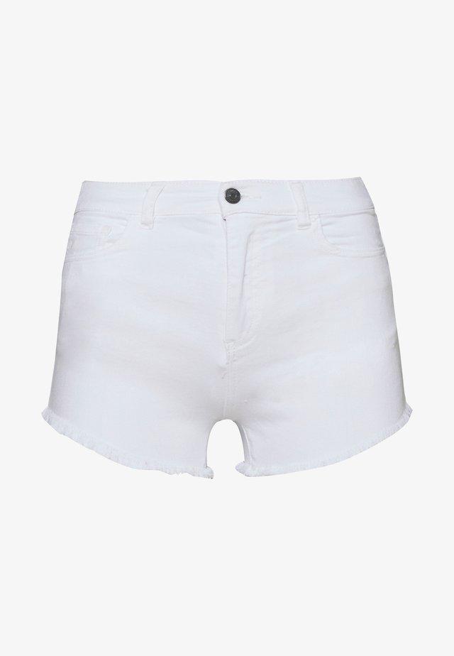 Szorty jeansowe - white denim