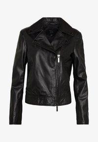 Armani Exchange - Veste en cuir - black - 5