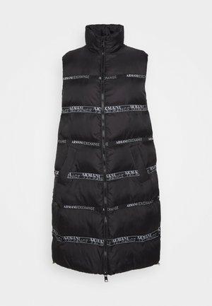 CABAN COAT - Waistcoat - black