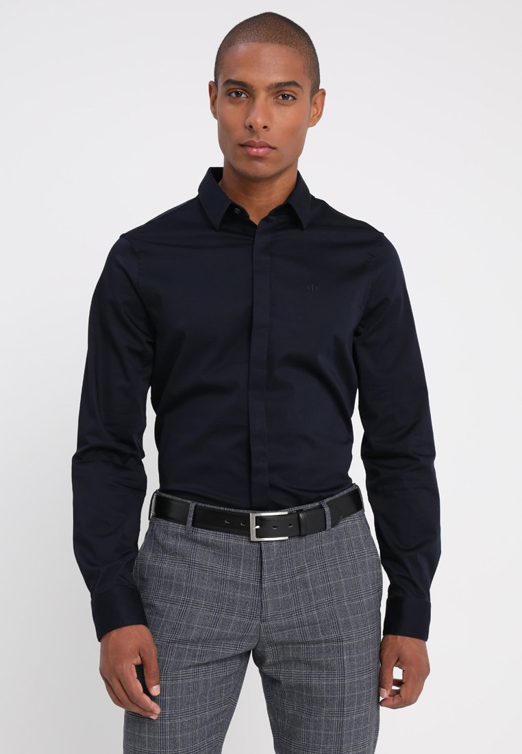 Armani Exchange - Businesshemd - navy