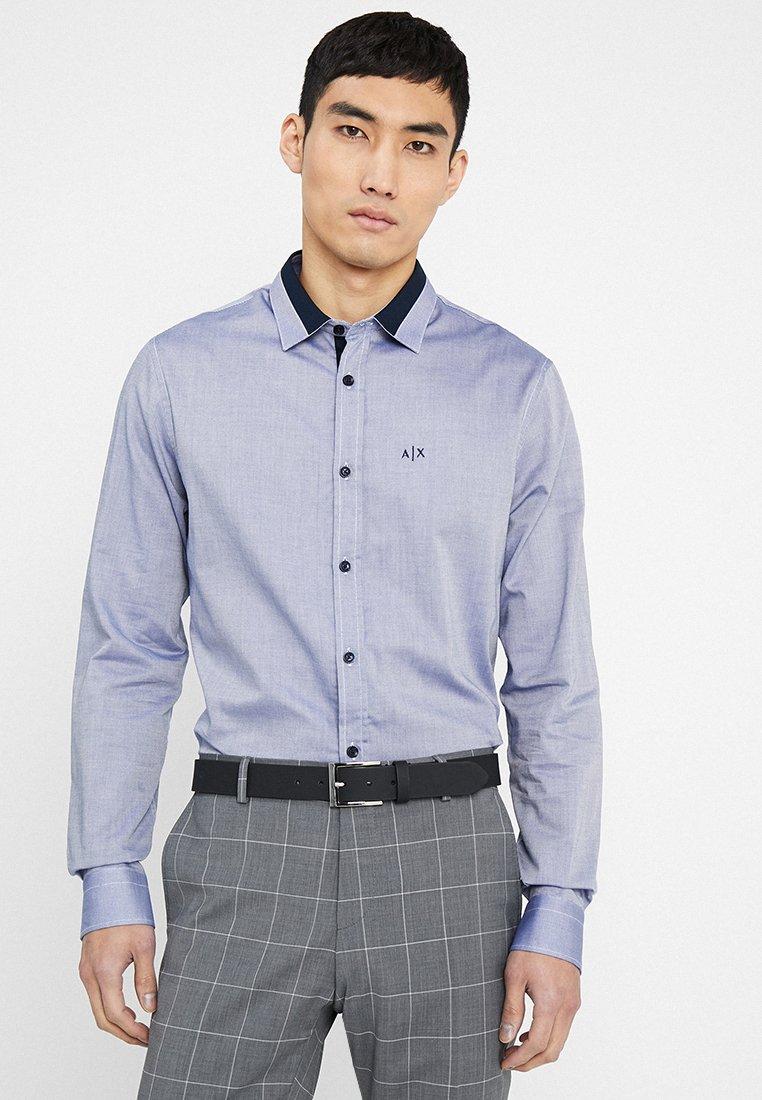Armani Exchange - Koszula biznesowa - blue