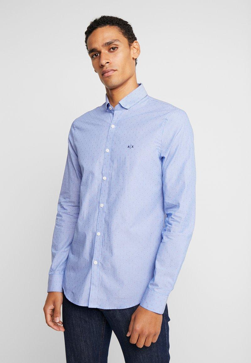 Armani Exchange - Hemd - blue