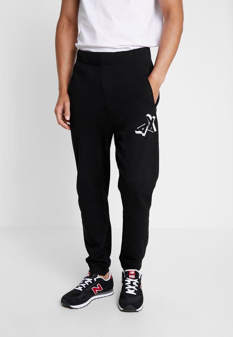Armani Exchange - Pantalon de survêtement - black