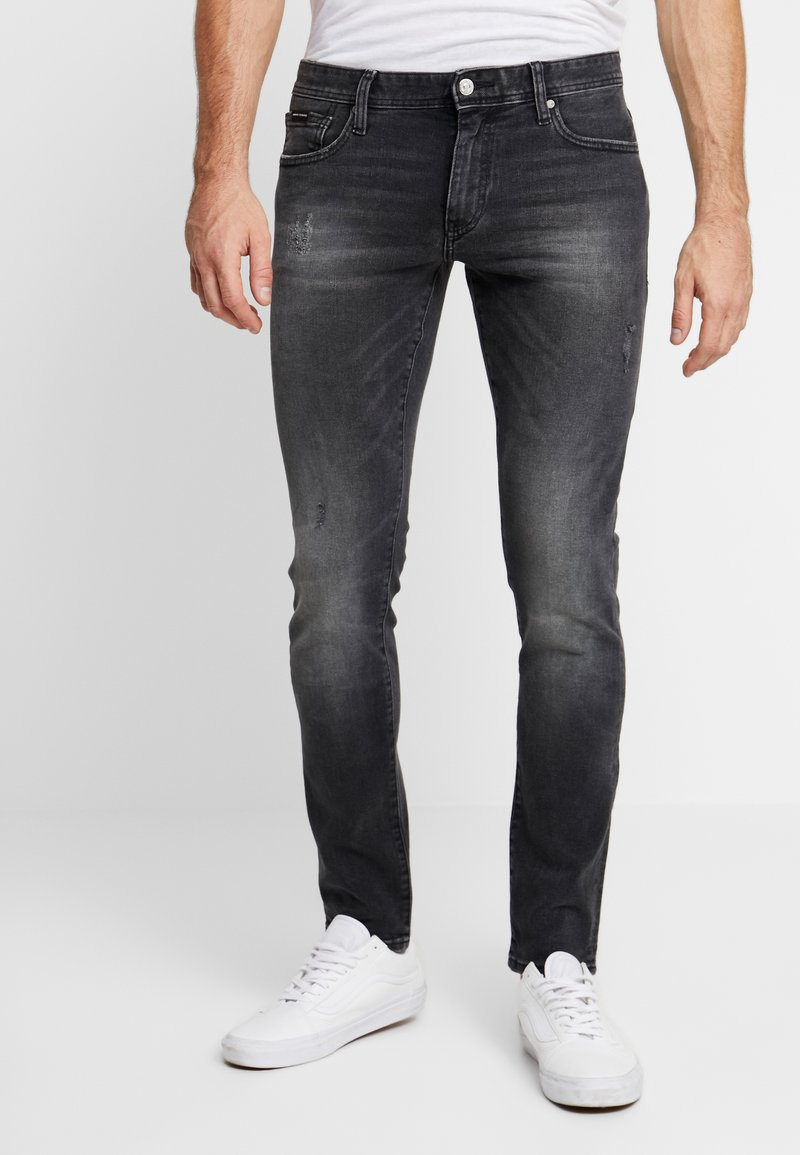 Armani Exchange - Jeans Skinny Fit - grey denim