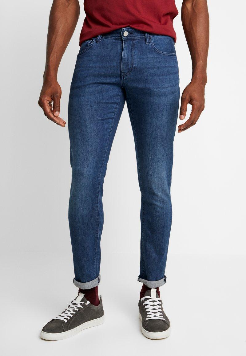 Armani Exchange - Jeans Skinny Fit - indigo denim