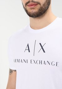 Armani Exchange - T-shirt print - white - 3