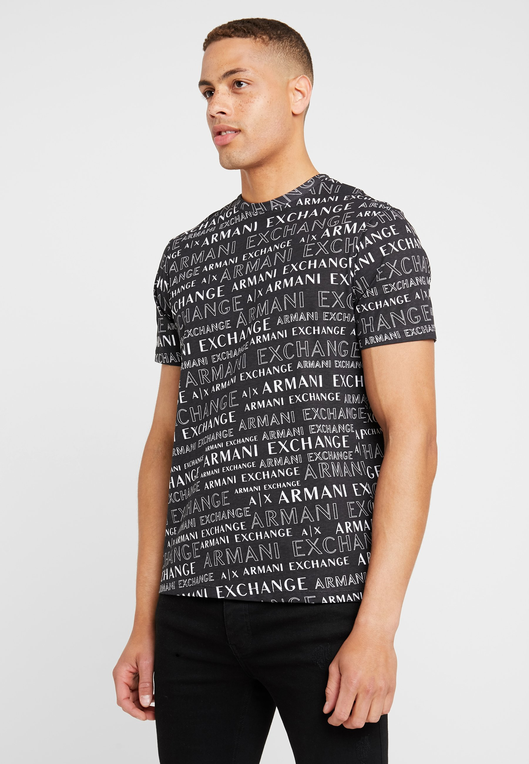 Armani Exchange Exchange T shirt T Exchange Armani ImpriméBlack ImpriméBlack Armani shirt IgYb6v7mfy