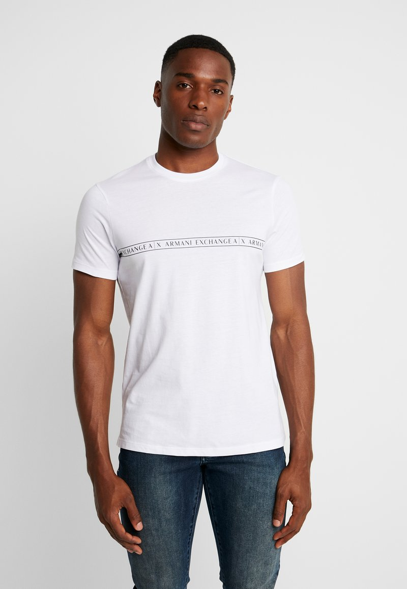 Armani Exchange - Print T-shirt - white