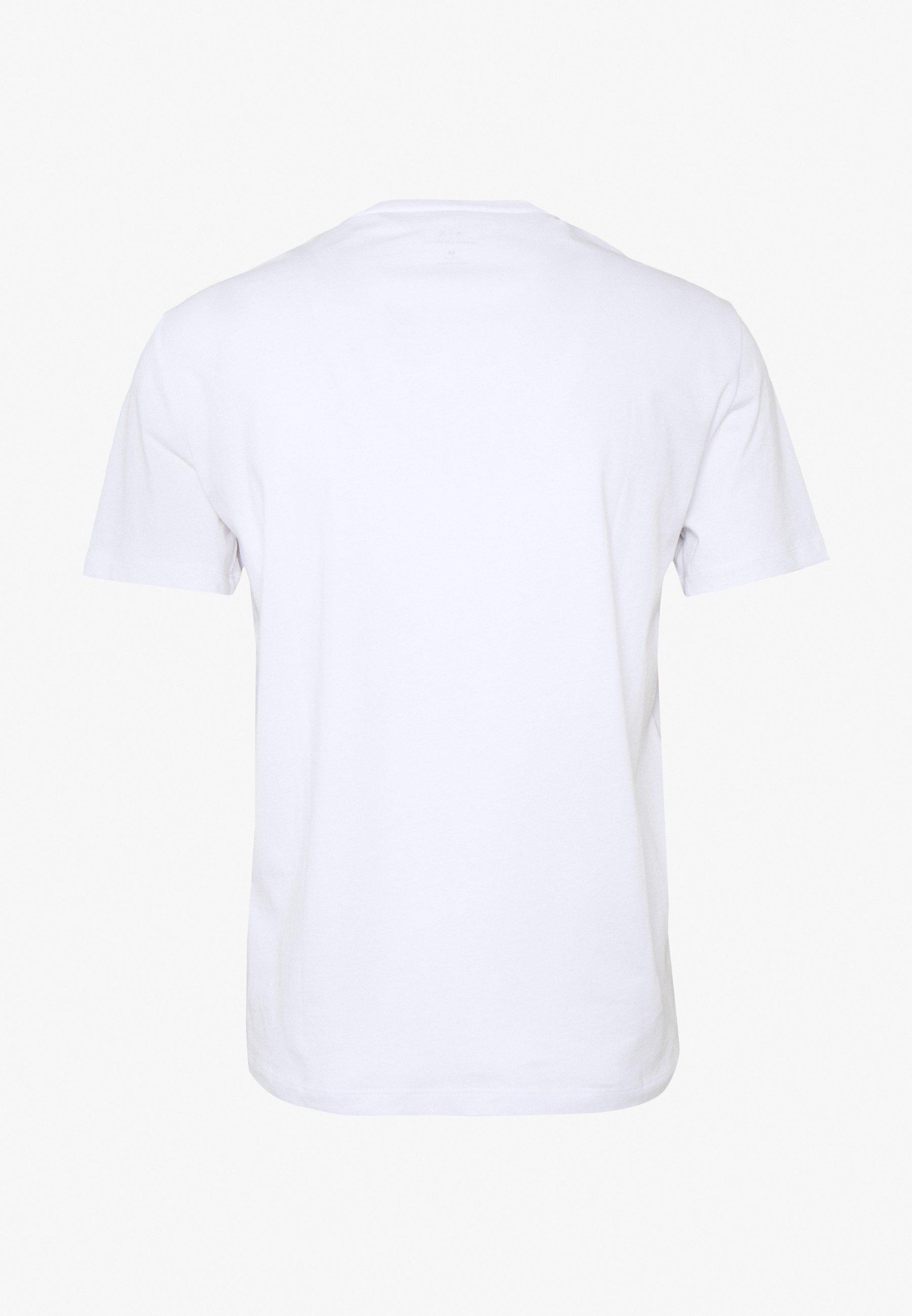 Armani Exchange T-shirt imprimé - white