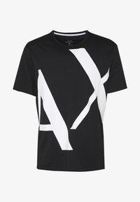 Armani Exchange - T-shirt z nadrukiem - black - 3