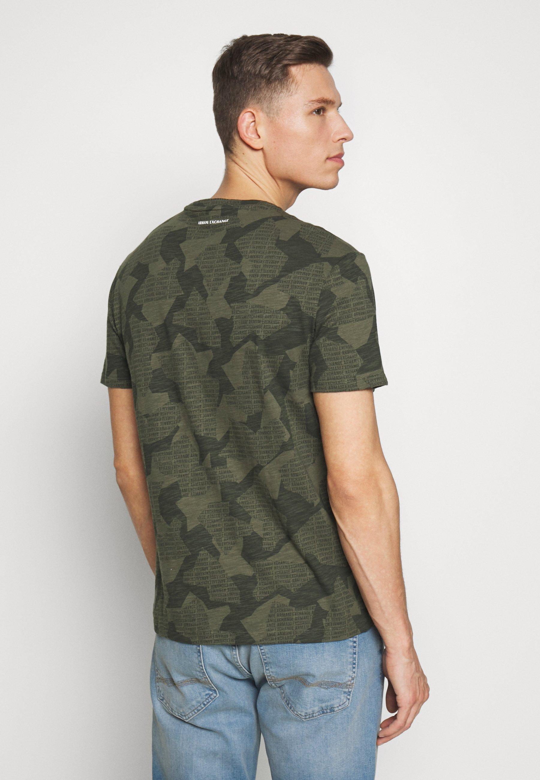 Armani Exchange Camiseta estampada - beetle