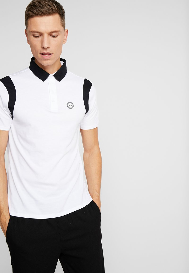 Armani Exchange - Poloshirts - white