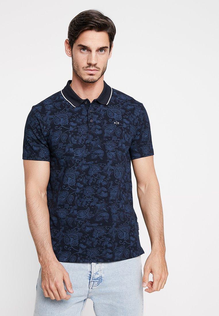 Armani Exchange - Poloshirt - navy