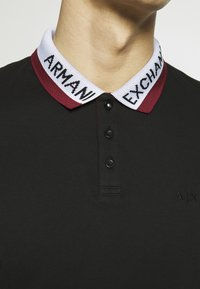 Armani Exchange - Koszulka polo - black - 5
