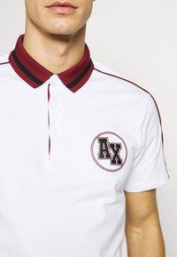 Armani Exchange - Koszulka polo - white - 5