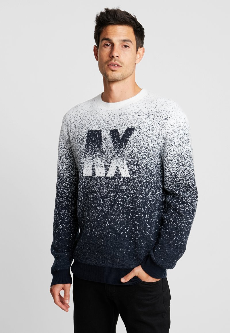 Armani Exchange - Strickpullover - navy