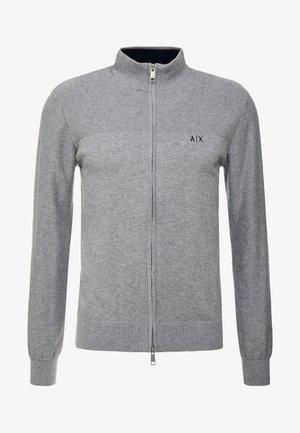 Kardigan - melange grey