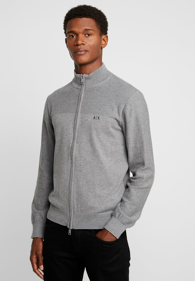 Armani Exchange - Strickjacke - melange grey