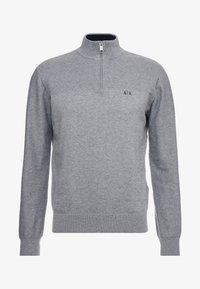 Armani Exchange - Strikkegenser - melange grey - 5
